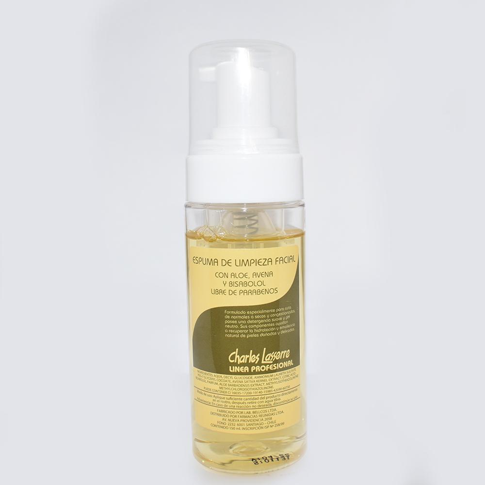 Espuma de limpieza facial