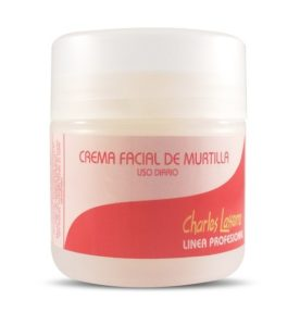 Crema facial con extracto de murtilla